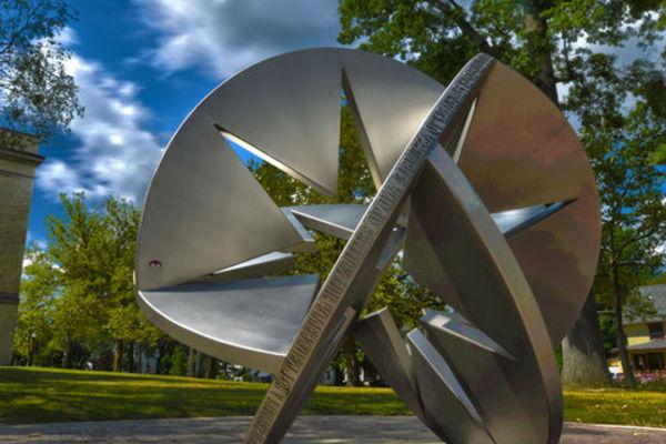 On Campus Sculpture