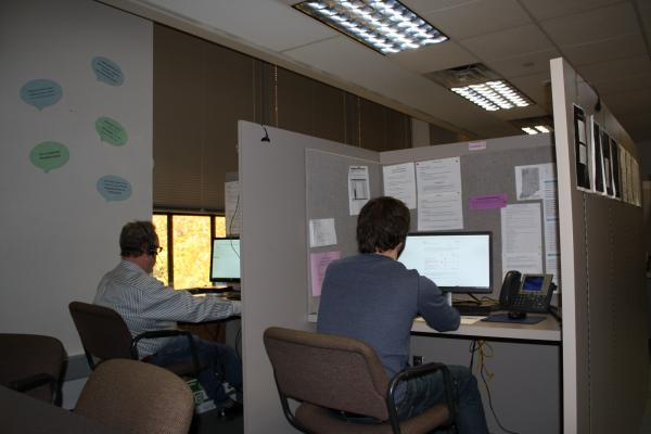 Telephone interviewers of the Survey Research Lab