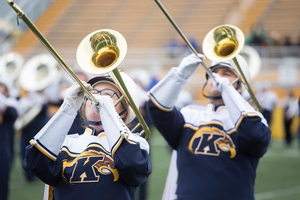 Marching Golden Flashes