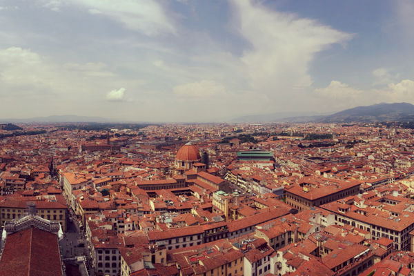 View of Florence from the Duomo