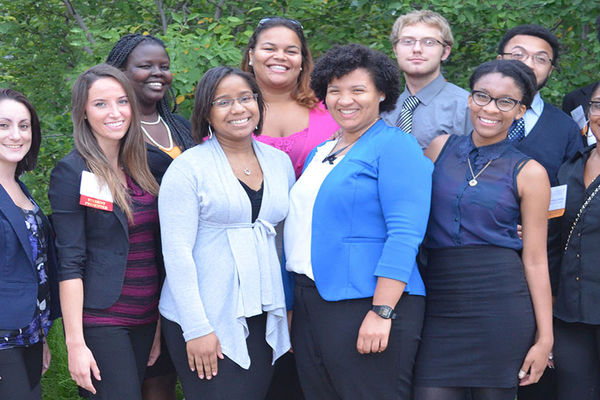McNair Scholars attending University of Buffalo Conference