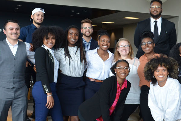 Banner photo of the 2019-2020 McNair Scholars