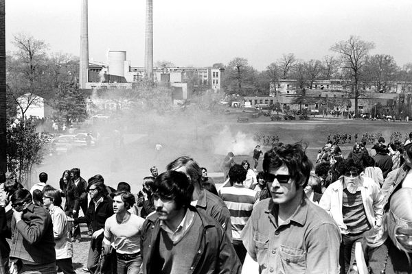 Students on May 4, 1970
