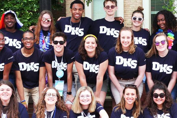 Blue Team students at Destination Kent State