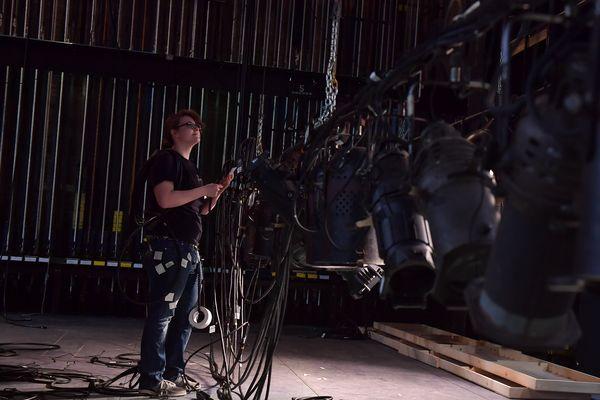 Lighting Design Student Works in Stump Theatre