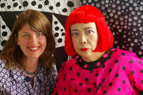 Heather & Kusama Copyright Tokyo Lee Productions, Inc.