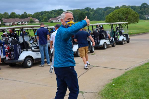 T.Palcho at 1G3 Alumni Golf Outting