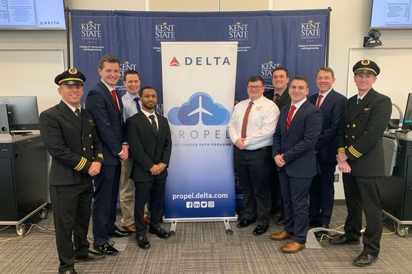 Seven Kent State Students Signed to Delta