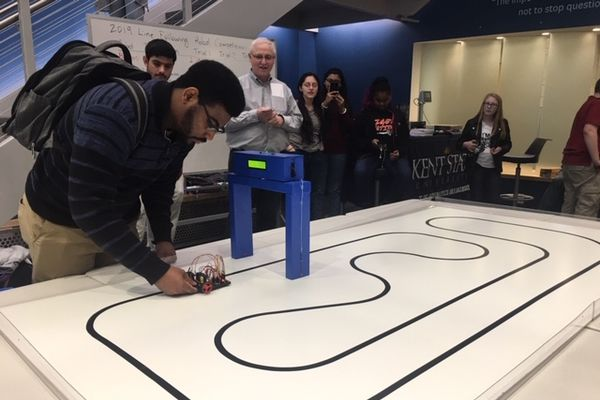 Line Following Robot Competition