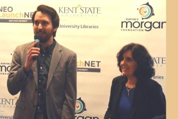 Jackie Ruller receives LaunchNET partner award, 2018