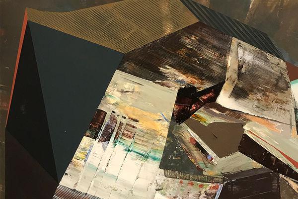 Jenniffer Omaitz, Folds, Gestures, Movement, KSU Hotel Gallery, Dec. 2018