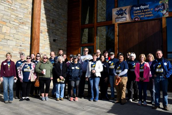 2018 Kent State Alumni Day of Service at the Akron Zoo