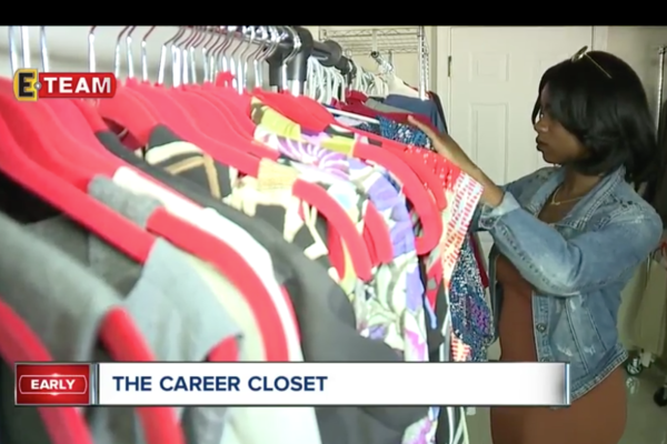 WEWS features Kent State's Career Closet