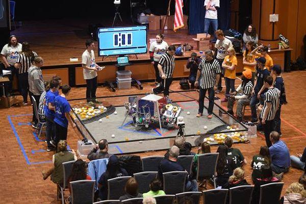 Robotics Competes at Kent State