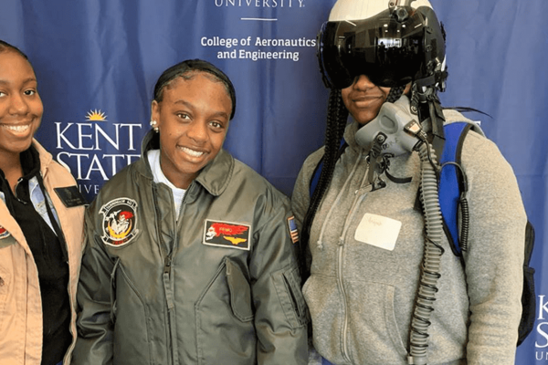 Girls in Aviation Day at the FedEx Aeronautics Academic Center
