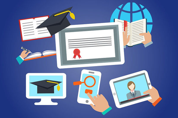 graphics of online learning