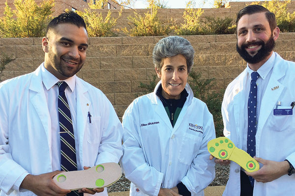 Students Partner with Professor to Ease Diabetic Foot Pain