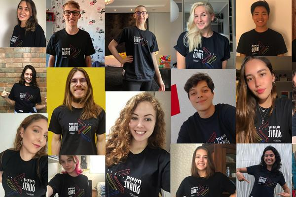 American Academy Students Show Off the Winning T-Shirt Design