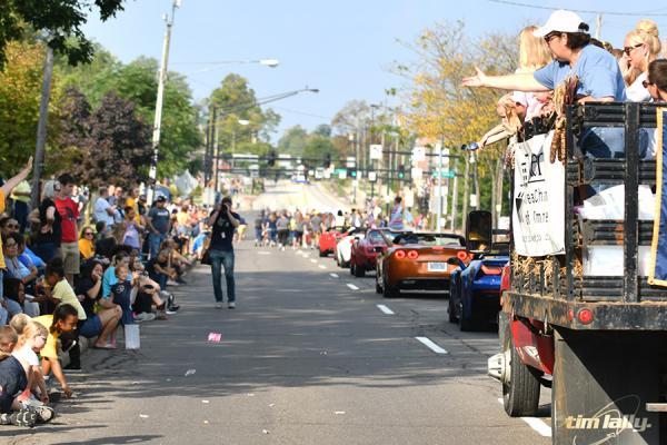 Parade at Kent
