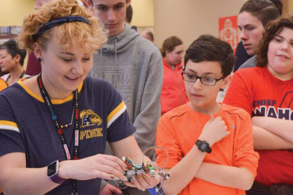 Kent State Mini Maker Faire is a venue for exhibitors to show off their hobbies, experiments and projects.