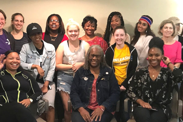 All the CEO Ladies meet monthly at the Kent State Women's Center