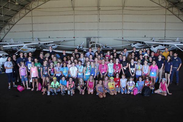 photo Girls in Aviation Day 2017