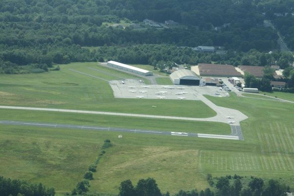 photo KSU Airport from above