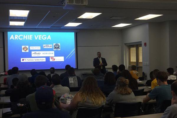 photo KSU-AAAE visiting speaker Archie Vega