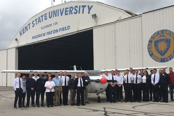 photo Red Nose Day at the Kent State Airport 2017
