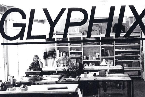 The original Glyphix studio in the Art Building
