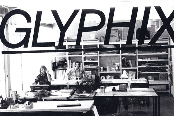 The original Glyphix studio in the Art Building