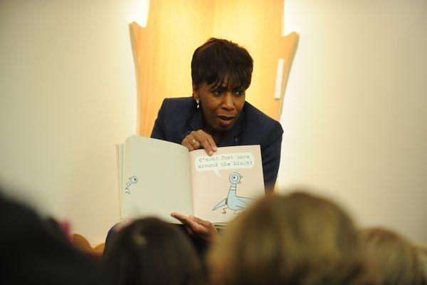 Picture books are read to children