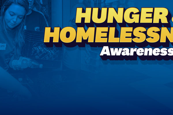 Hunger and Homelessness Awareness Week Banner