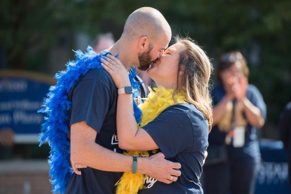 Image of Kent State Alumni Kiss