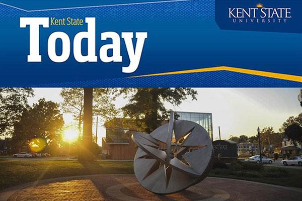 Kent State Today magazine cover