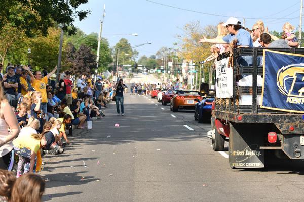 Photo of Homecoming parade