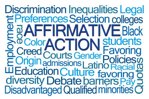 Affirmative Action graphic