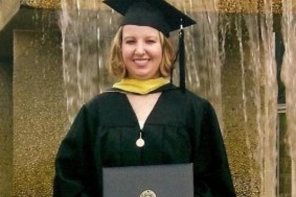Angela Wojtecki at Graduation