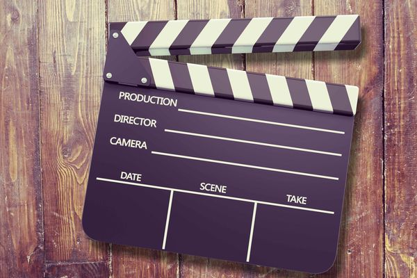 Photo of film clapboard