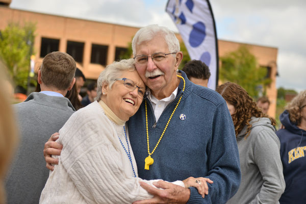 Kent State University Senior Guest Program Two Seniors