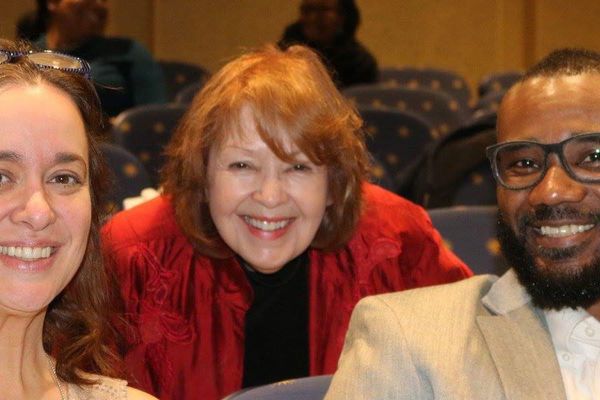 Cynthia Leitich Smith, Pat Mora, and Don Tate at the 2017 Conference