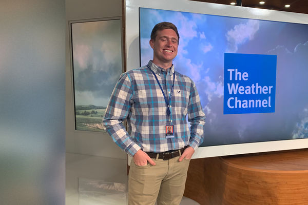David Burgett, Weather Channel