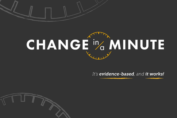 Change in a minute