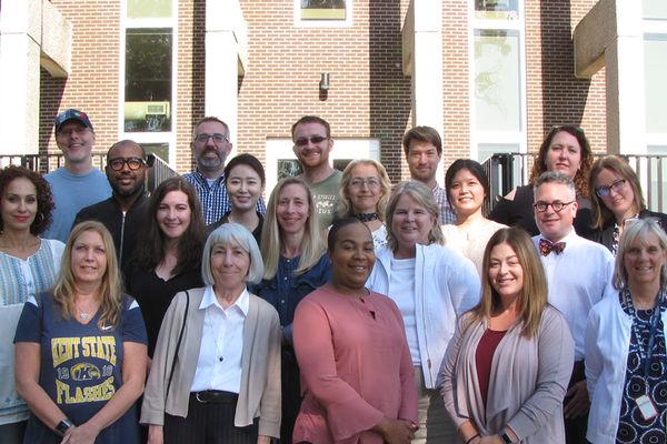 Communication studies faculty group shot