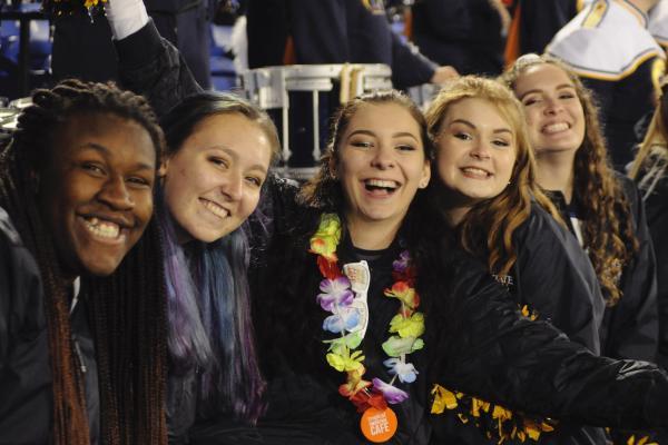 KSU Students at Bowl Game | Photo Credit: Sydney Prusha