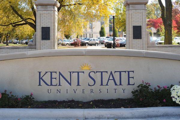 Kent State Sign