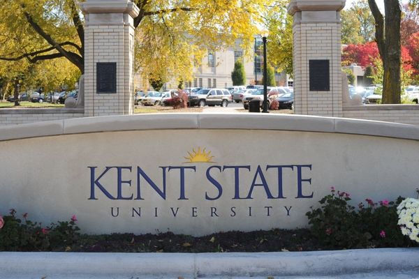 Kent State Sign
