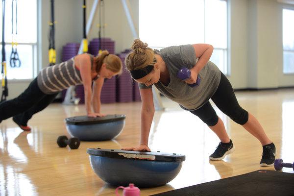 Employees participate in KSU wellness activities
