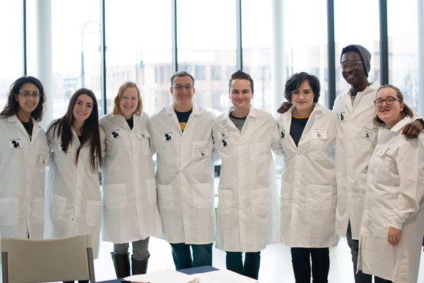 SAACS students at Explore Kent Chemistry Day
