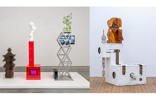 Sculptures by Douglas Rieger, Eli Kessler and Chris Mahonski